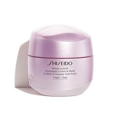 Crème & Masque Nuit Éclat - Shiseido, Crèmes de jour et de nuit