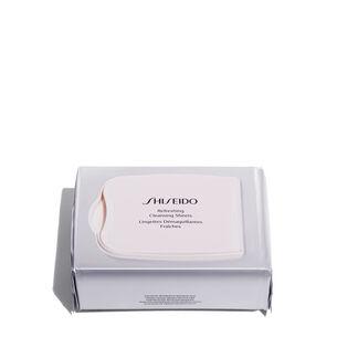 Lingettes Démaquillantes Fraîches - Shiseido, Nettoyants et démaquillants