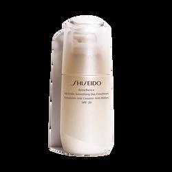 Émulsion Jour Lissante Anti-Rides SPF20 - Shiseido, Benefiance