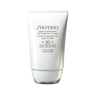 Urban Environment UV Protection Cream SPF30 - SHISEIDO SUN, Protection pour la ville