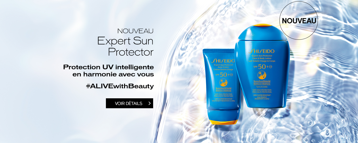 Invisible. Invincible. In Sync With You.Expert Sun Protector Face & Body Lotion and Face Cream VOIR DÉTAILS